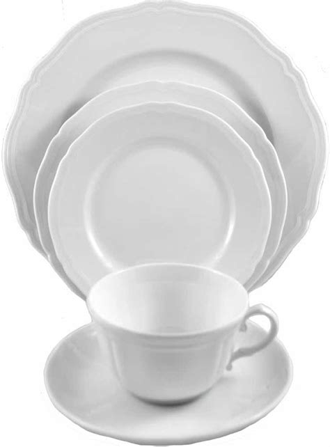 ginori antico doccia ginori antico doccia white 5pc place setting porcelain