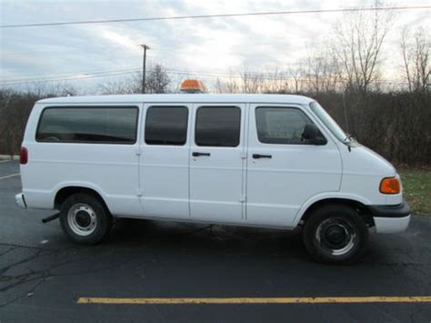 how make cars 2003 dodge ram van 2500 security system buy used 2003 dodge ram 2500 cargo van cng compressed natural gas 29k miles in dexter michigan