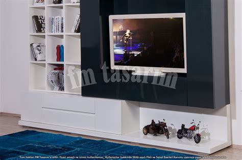 Sofa Unit Floor Tv Unit Fm Tasarım