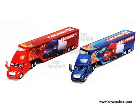 Kinsmart Kenworth Container 168 kinsmart diecast model kenworth t2000 container truck 166 scale