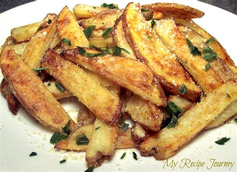 oven baked truffle fries recipe