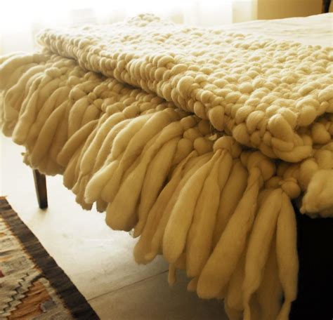 how to knit a large blanket large chunky knit blanket clouds king blanket homelosophy