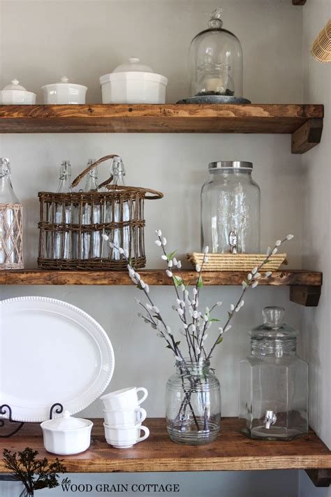 styled dining room shelving dining room shelves kitchen