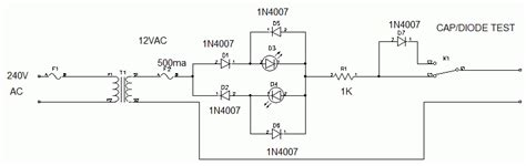 how to test high current diode how to test a high voltage diode