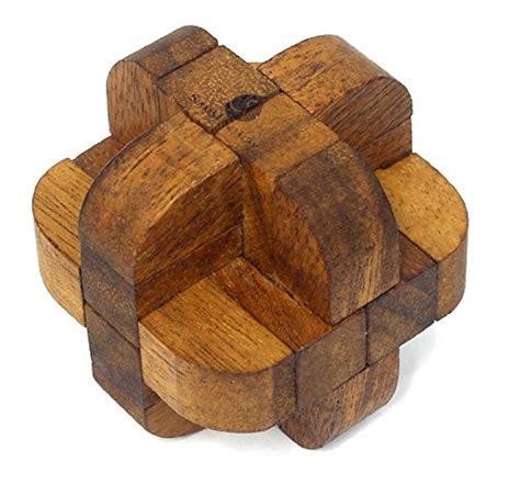 Handmade Wooden Puzzles - neutron 3d stem brain teaser a handmade wooden puzzle for
