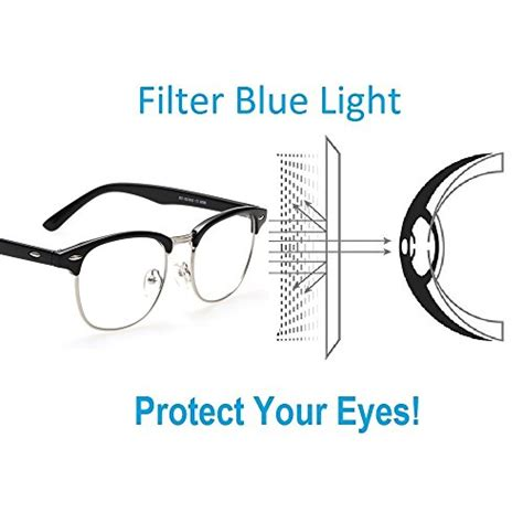 blue light filter computer cyxus blue light filter anti eye strain computer glasses