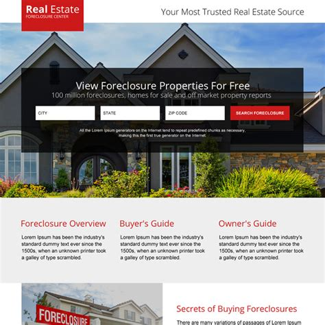 real estate home page design 28 images real estate