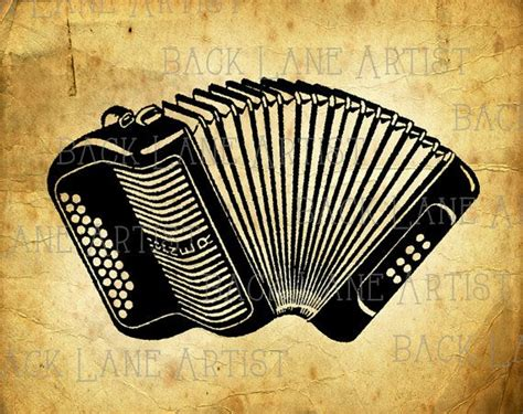 accordion tattoo vintage hohner accordion muscial instrument clipart