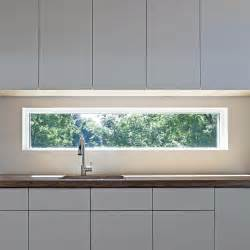 kitchen window design glass window backsplash