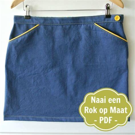 Tas Boxy Ribbon maak een rok op maat pdf beschrijving sew