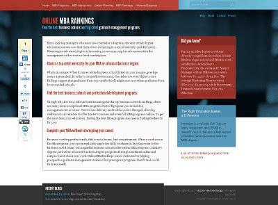 Design Mba Programs by ウェブデザイナー必見 教育機関のウェブデザインで特に秀逸なもの30選 Gigazine