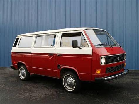 clean 1983 volkswagen vanagon bring a trailer