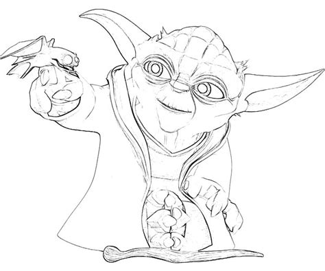 coloring page yoda yoda printable coloring pages az coloring pages