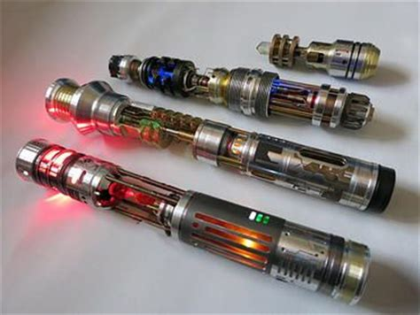 Hton S Handcrafted Lightsabers - arsenal about me and d on