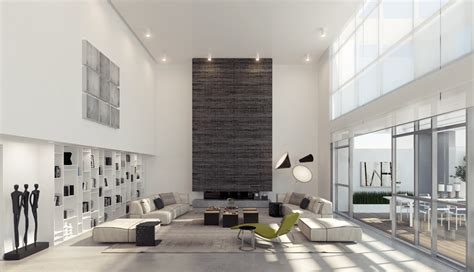 living space design 4 dual level living room interior design ideas
