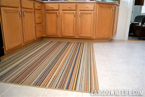 Striped Kitchen Rug Large Kitchen Area Rugs Smileydot Us