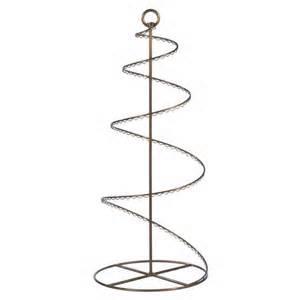 30 quot bronze colored swirled ornament display decorative