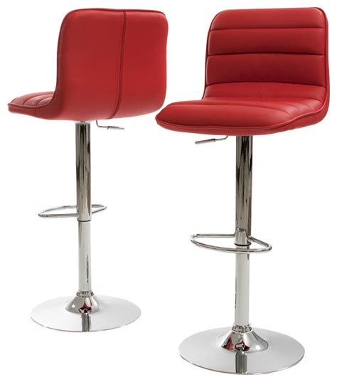 Modern Swivel Bar Stools by Modern Airlift And Swivel Bar Counter Stool Set Of 2 Bar Stools And