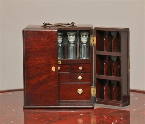 19th century mahogany apothecary cabinet for sale at 1stdibs