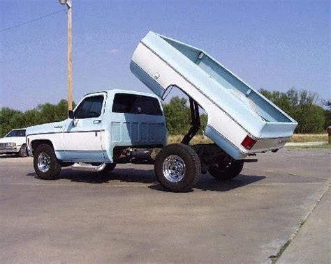 pickup dump bed kit 2 ton dump bed kit for 1984 to 1993 dodge pickup trucks