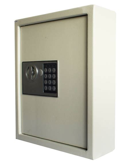futura heavy duty 105 metal key safe cabinet wall mounted