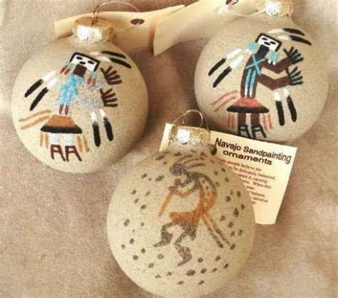 navajomade sand ornaments navajo sand painted southwest ornament