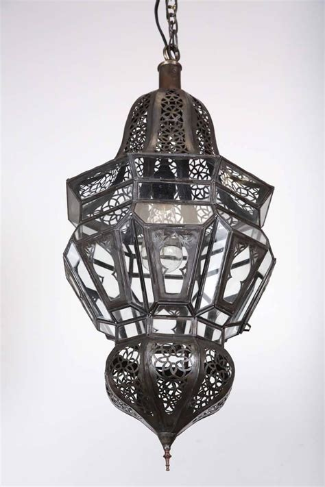 Moroccan Hanging Metal Chandelier At Moroccan Moorish Hanging Pendant Light For Sale At 1stdibs