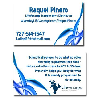 lifevantage business cards the world s catalog of ideas