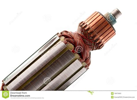 Electric Motor Coil by Copper Coils Inside Electric Motor Stock Photos Image