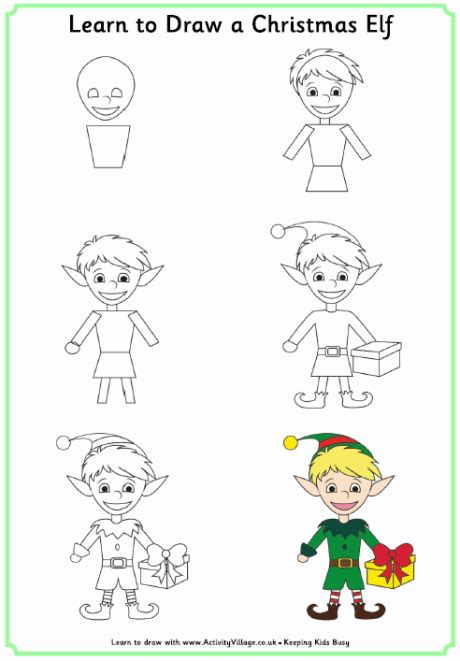 drawing step to step christmas decorations learn to draw a