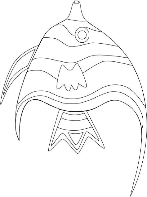 angelfish coloring pages download and print angelfish