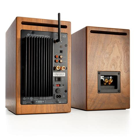 Audioengine Hd6 Walnut hd6 wireless speakers audioengine
