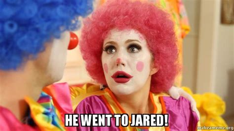 He Went To Jared Meme - he went to jared make a meme