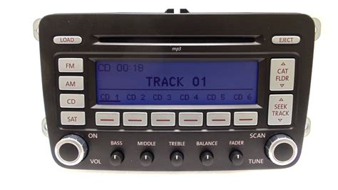 Volkswagen Jetta Radio by Vw Volkswagen Jetta Passat Satellite Radio 6 Disc Changer