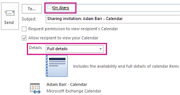 office365 exchange cannot open shared two calendars in share an outlook calendar with other people outlook