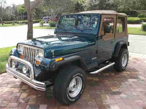 1995 jeep wrangler soft top for sale buy used 1995 jeep wrangler low soft top 4 cyl 5