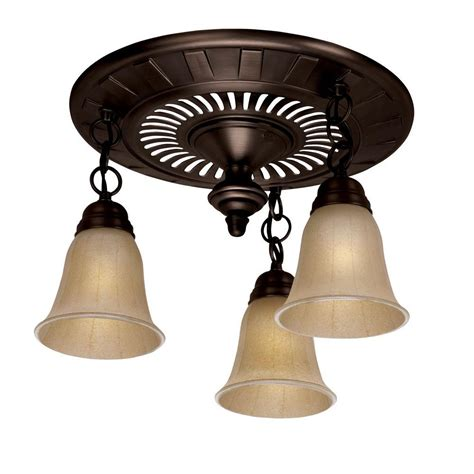 Bathroom Ceiling Fans With Light Nutone 70 Cfm Ceiling Exhaust Fan With Recessed Light 744nt The Home Depot