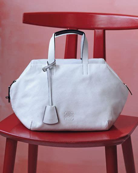 Loewe Origami Cubo - loewe origami cubo satchel bag white