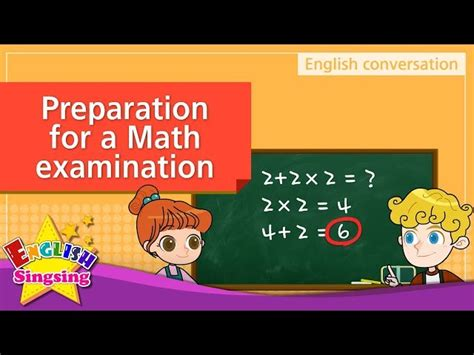 math examination preparation english dialogue educational video  kids   kids