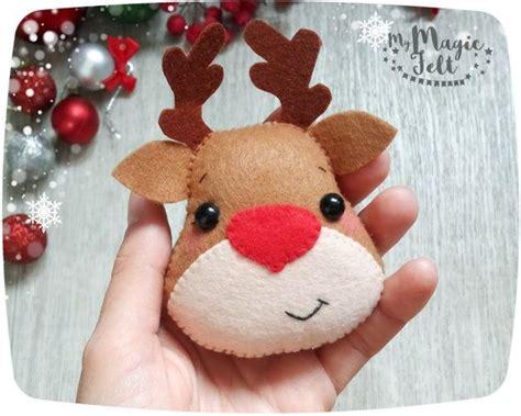imagenes navidad en fieltro m 225 s de 17 ideas fant 225 sticas sobre adornos de navidad de