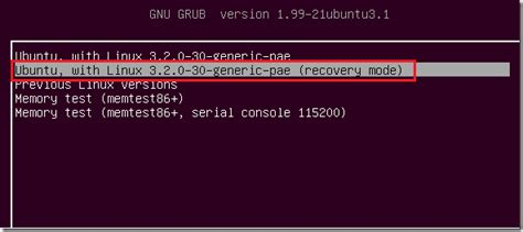 ubuntu resetting network settings recover lost passwords in ubuntu 12 04 recovery mode