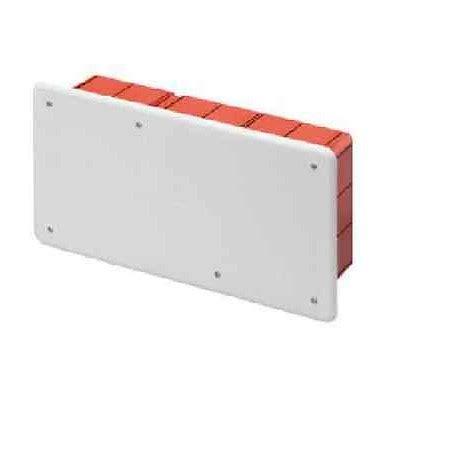 cassette di derivazione da incasso cassetta di derivazione da incasso pt10 c coperchio
