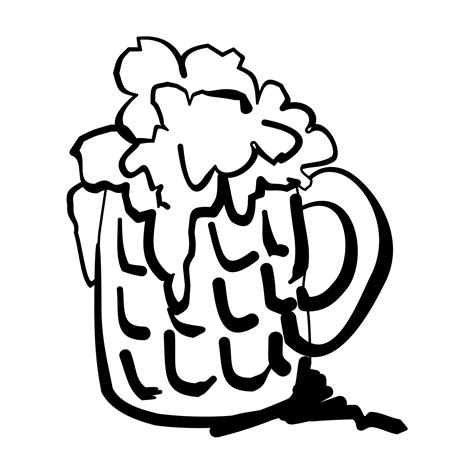 free root beer float coloring pages