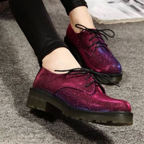sparkle oxford shoes shoes oxford style shiny laces shoes glitter sparkle
