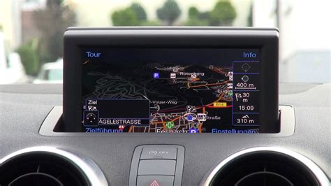 Audi A1 Germany by Audi A1 Mmi Navigation Plus Im 220 Berblick German Deutsch