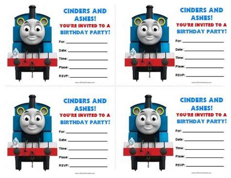 the tank engine template tank engine birthday invitations all free