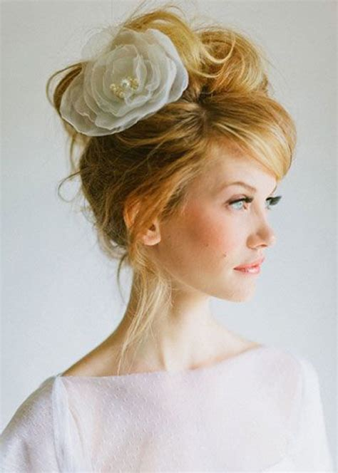 Wedding Hairstyles Casual by 15 Casual Wedding Hairstyles For Hair Fashionspick