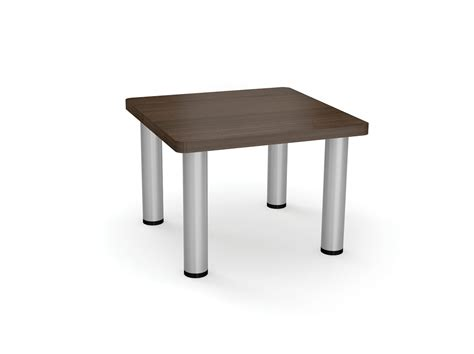 coffee tables available with pole legs or panel legs