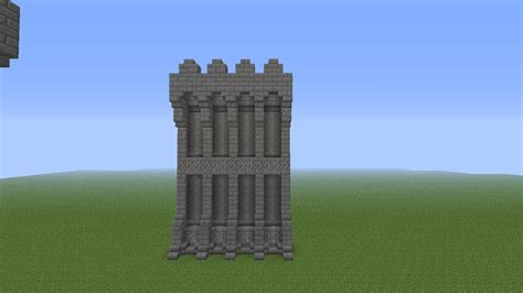 minecraft walls tutorial minecraft castles minecraft castle wall tutorial