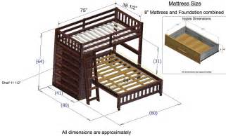 bunk bed dimensions discovery world furniture merlot loft beds